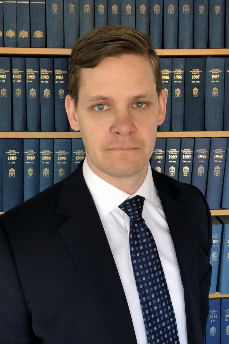 Jonas Halén, jur kand